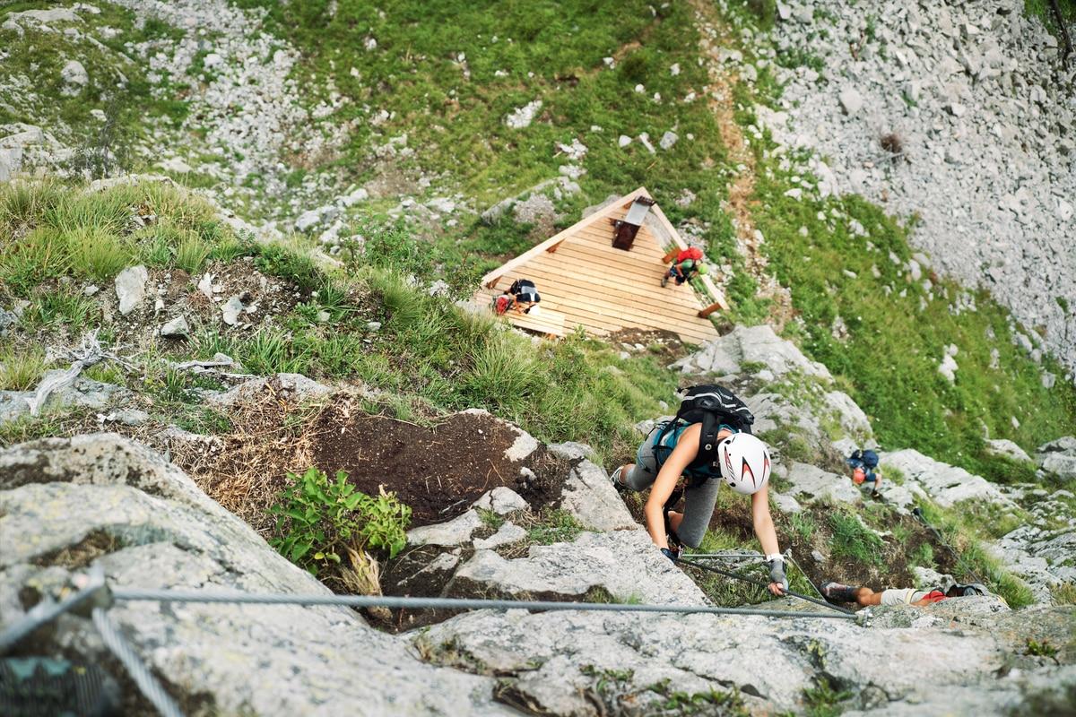 Klettersteig Luzern : Klettersteig check: der heini holzer b c
