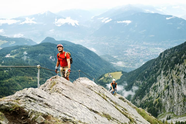 Heini-Holzer-Klettersteig Meran