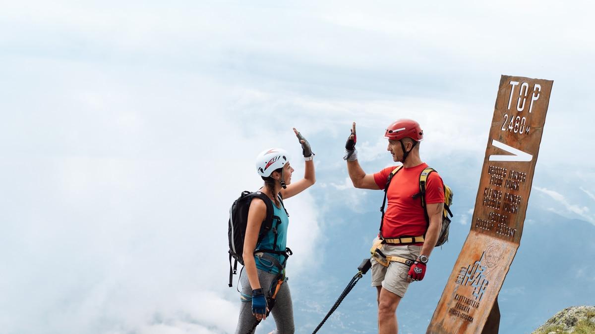 Klettersteig Meran : Klettersteig check: der heini holzer b c
