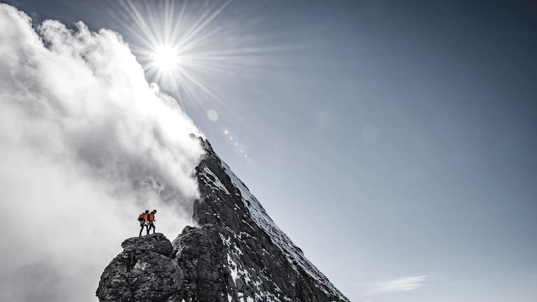 Eiger Extreme: Begehung des Mittellegigrats in der Jungfrau-Region
