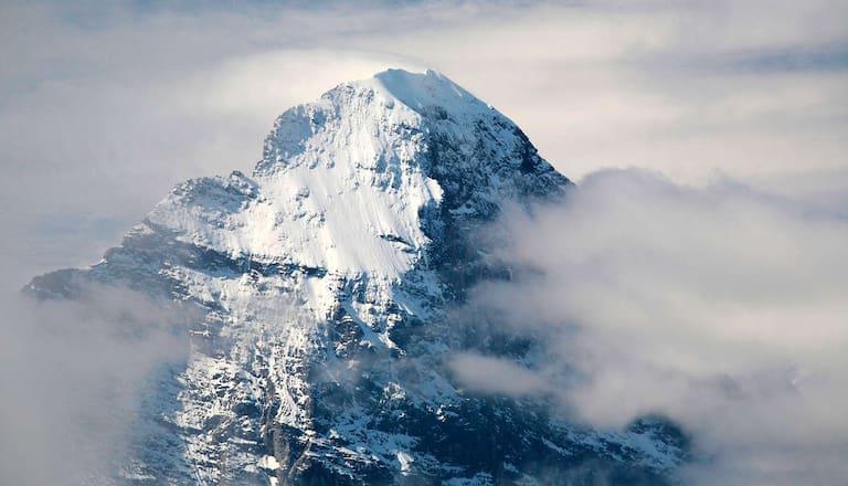 Mit Mammut und Bergwelten gemeinsam auf den 3.970 m hohen Eiger