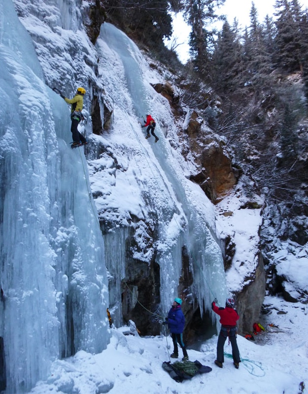 Klettergurt Eisklettern : Sicherheit tipps fürs eisklettern mit kindern bergwelten