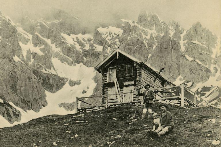 Archiv-Aufnahme: Erichhütte in Salzburg