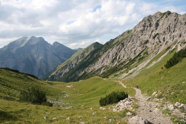 Weitwanderweg Adlerweg in Tirol