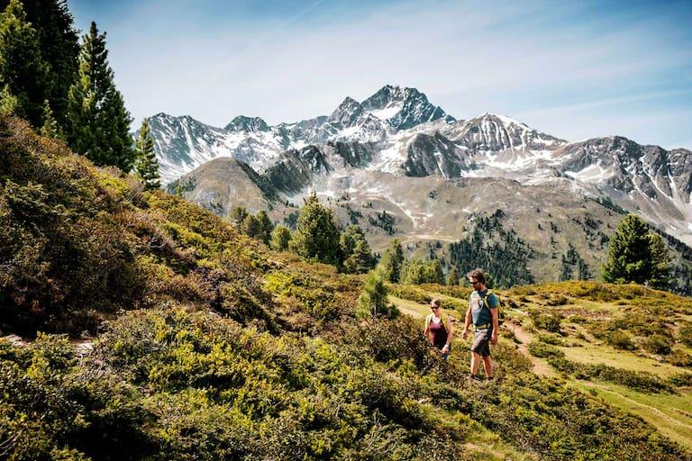 Wandern in Tirol: Aufs Faltegartenköpfl in den Stubaier Alpen
