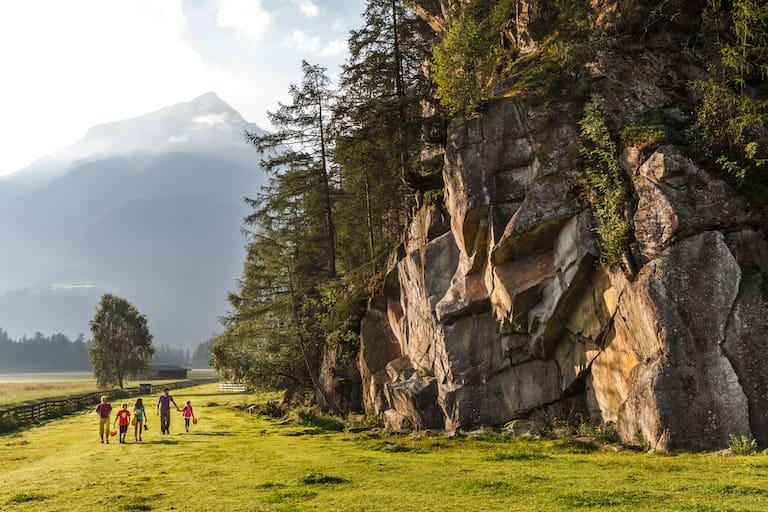 Familientraum in Stein: Klettergarten Oberried im Ötztal