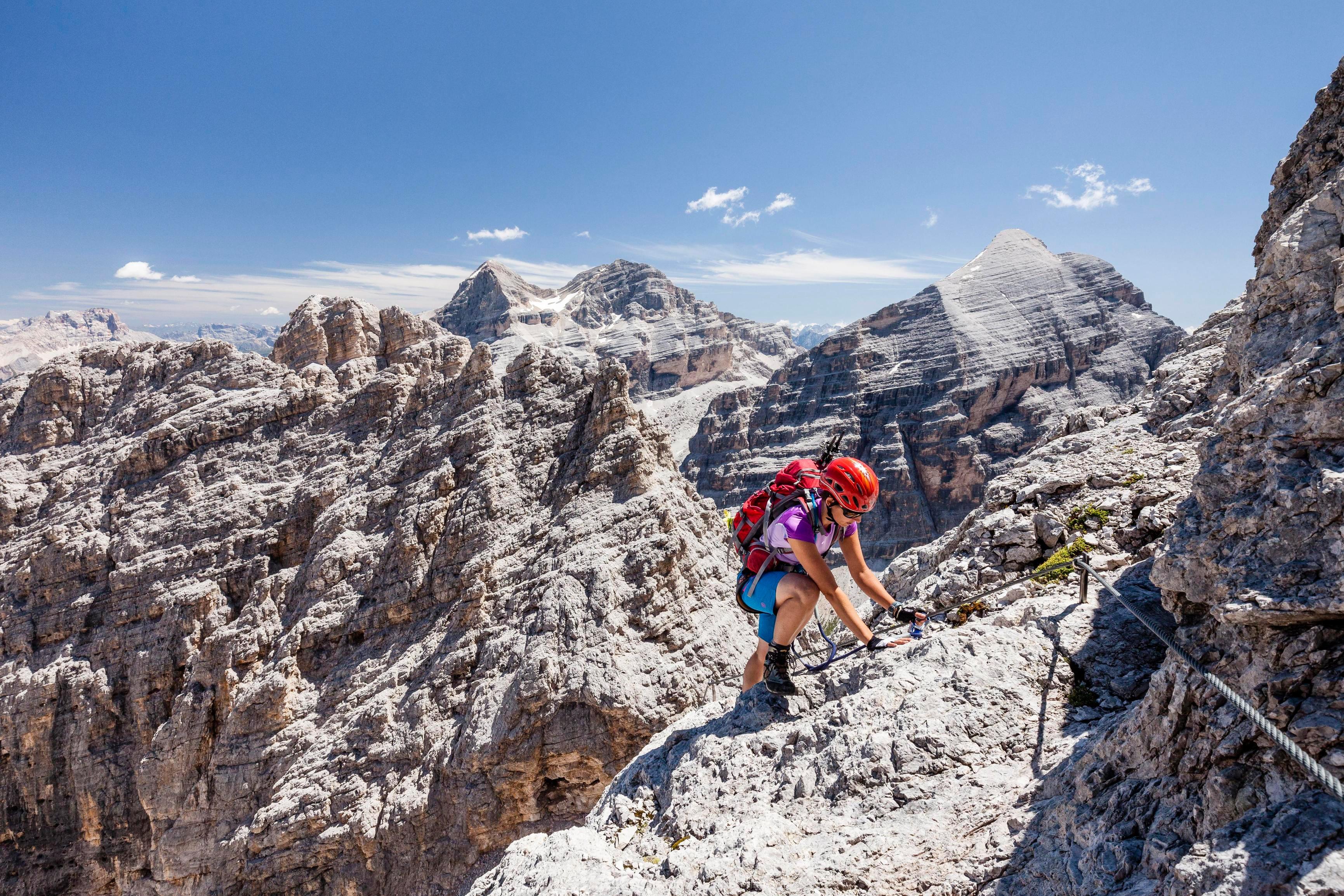 Klettersteig Däumling : Däumling gartnerkofel m klettersteig karnische alpen