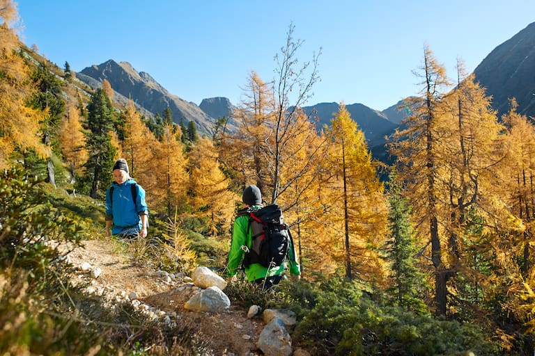 Wandern im Herbst Steirische Krakau