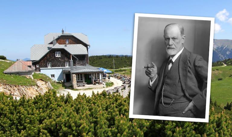 Siegmund Freud war zu Gast im Ottohaus auf der Rax