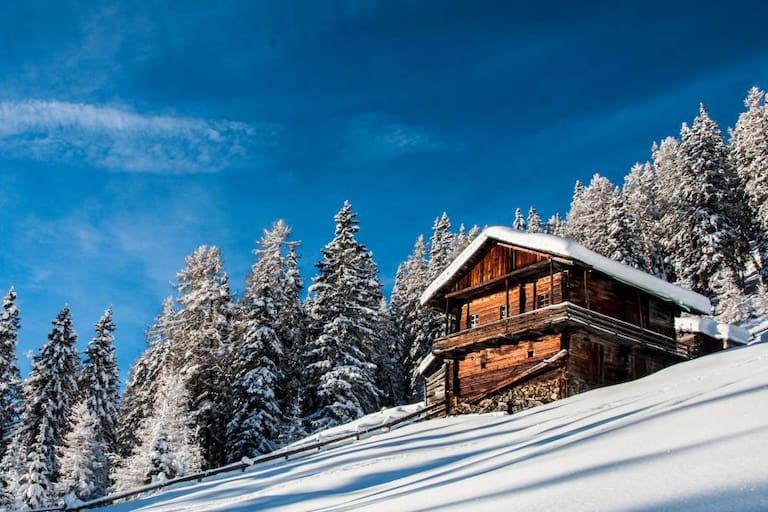 Auf den Gabesitten in Osttirol: Mitterwurzenalm