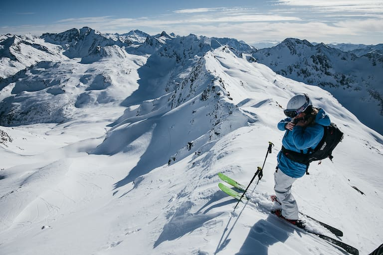 Die Berge des Gasteinertals bieten unzählige Möglichkeiten, um die Felle anzulegen und Gipfel per Tourenski zu erobern
