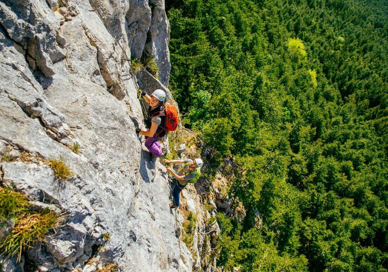 Die steile Weningerwand