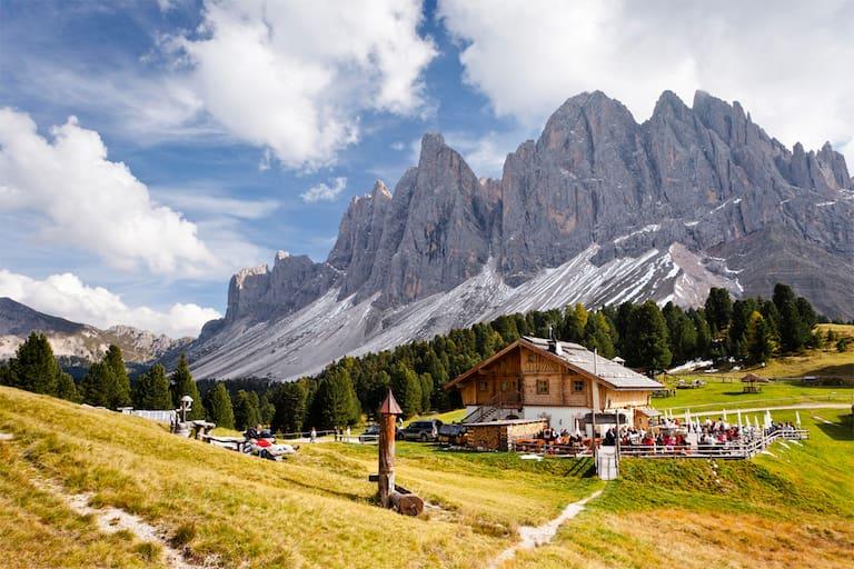 Geisleralm in Südtirol