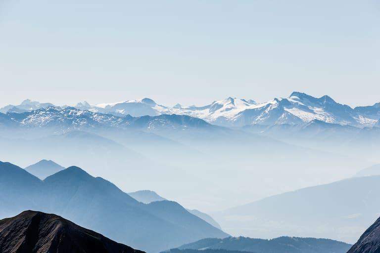 Gipfelpanorama: Zugspitze in Bayern