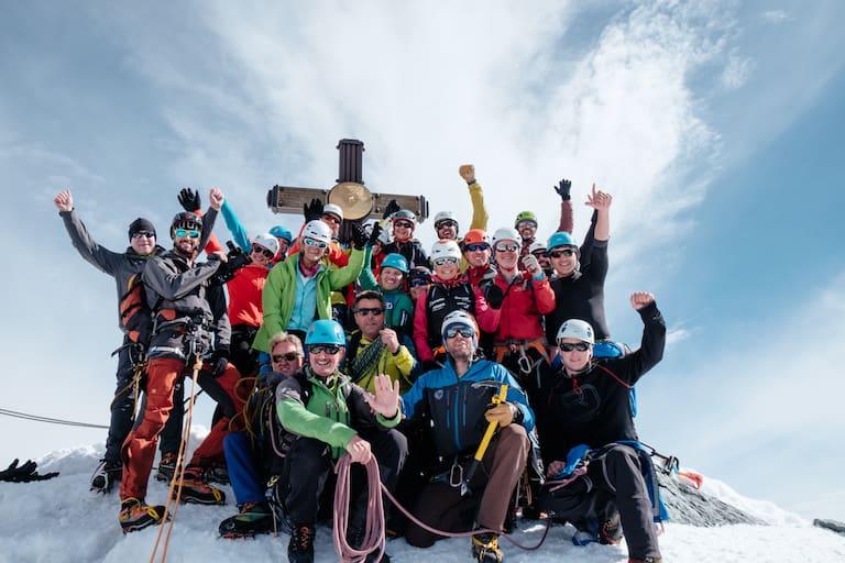 Team Bergwelten 2018 am höchsten Punkt Österreichs!