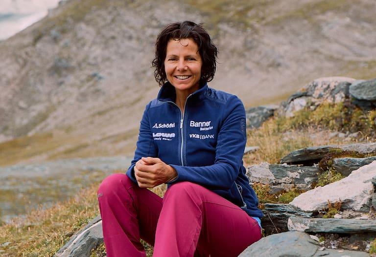 Auch für Gerlinde Kaltenbrunner, die erfolgreichste Höhenbergsteigerin aller Zeiten, müssen die Berge vorerst warten