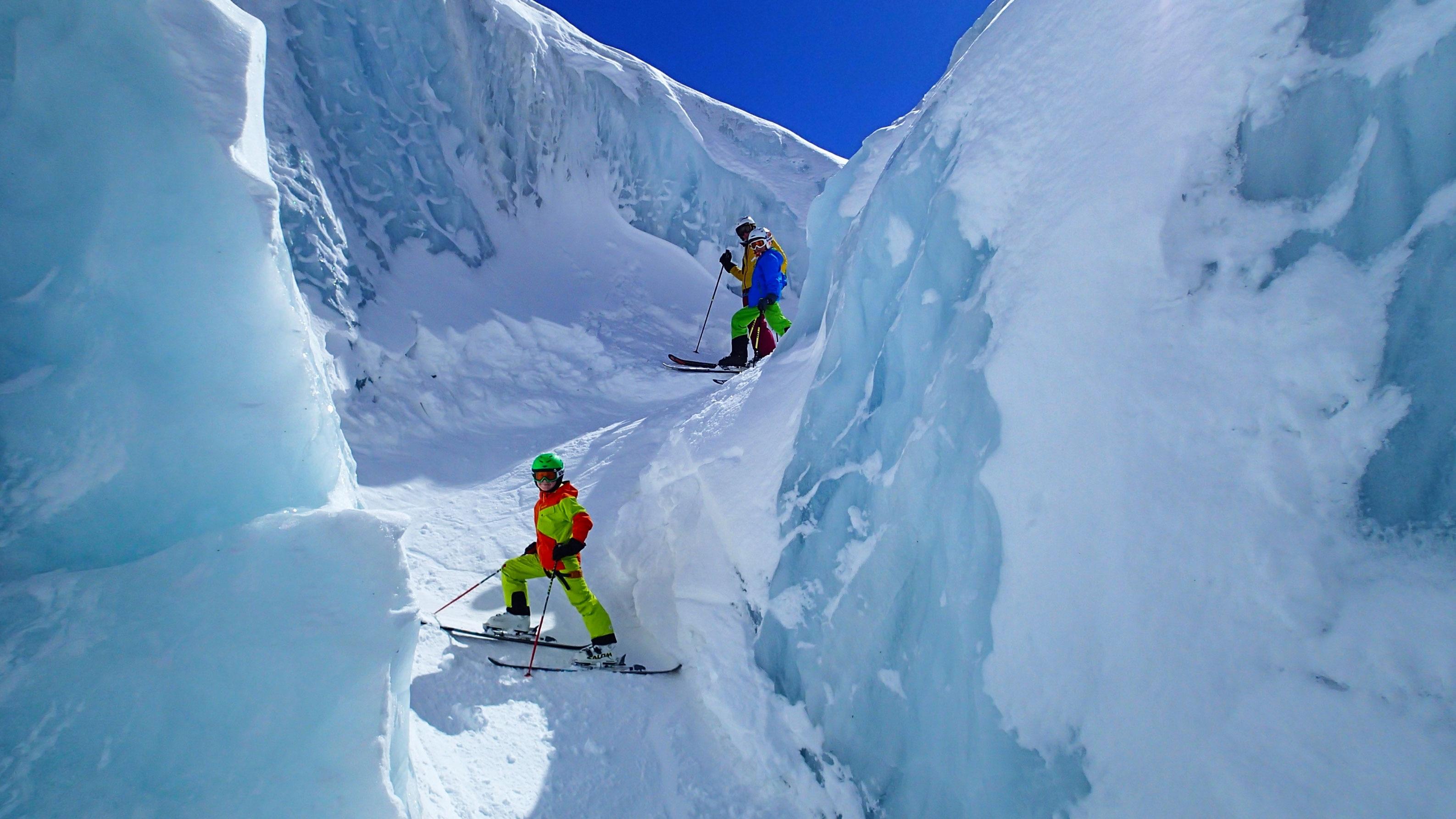 Klettergurt Für Gletscher : Mit kindern am gletscher tipps vom profi bergwelten