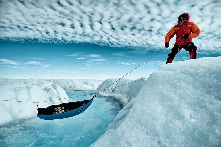 Stefan Glowacz in Grönland