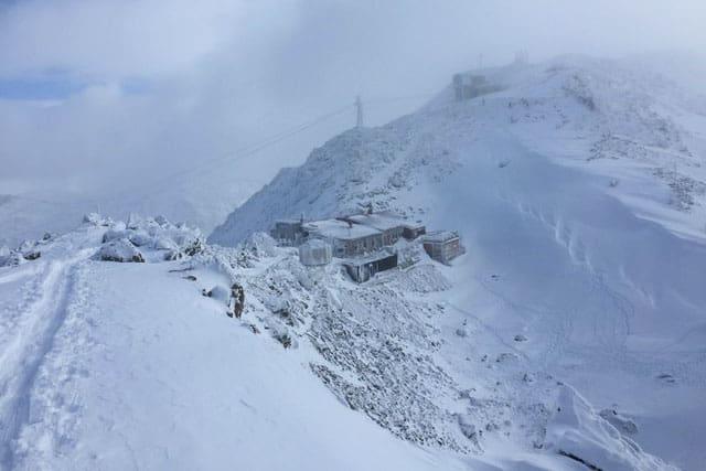 Glungezerhütte in Tirol