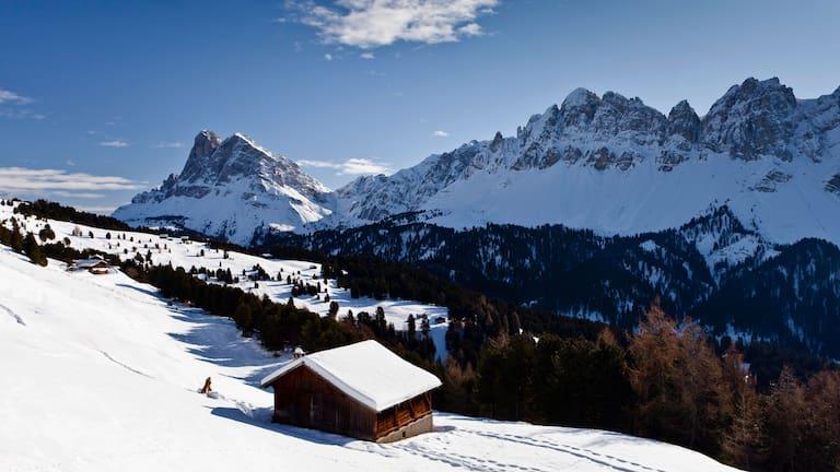 Lüsner Berge in Südtirol: Aufstieg auf den Großen Gabler in den Dolomiten