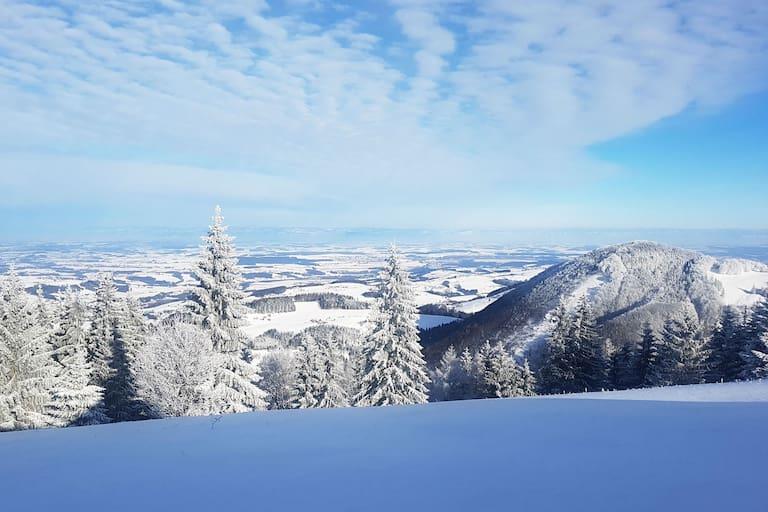 Winter in den Oberösterreichischen Voralpen