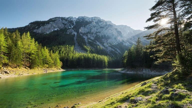 Funkelndes Juwel: Am Grünen See in der Steiermark