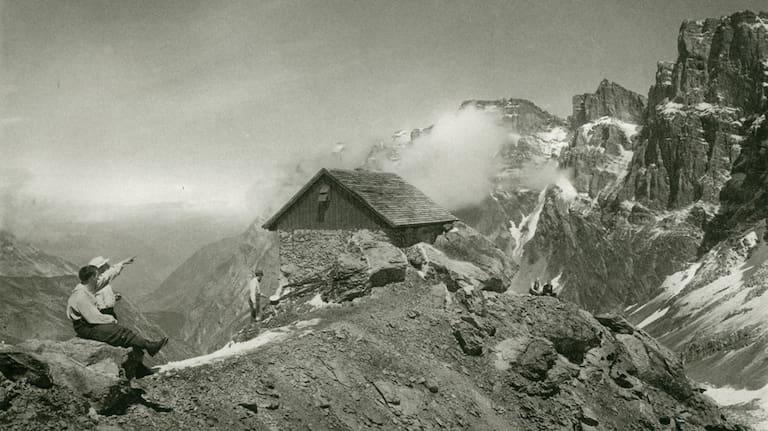 Grünhornhütte historisch