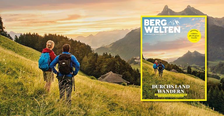 Bergwelten Magazin (Juni/Juli 2018) Schweiz