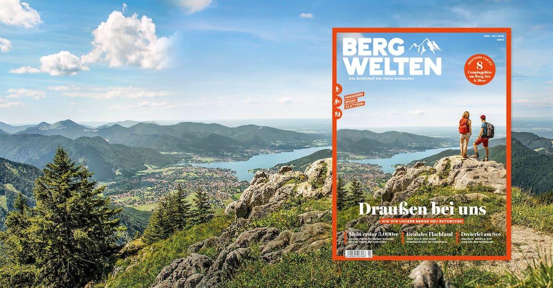 Das aktuelle Bergwelten Magazin (Ausgabe Juni/Juli 2020)