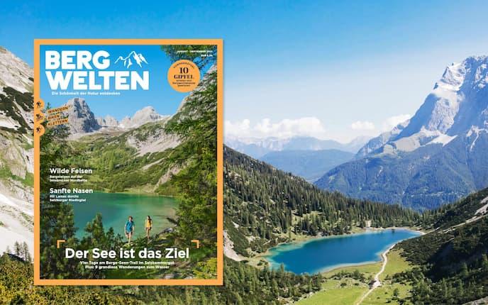 Bergwelten August/September 2021 Cover