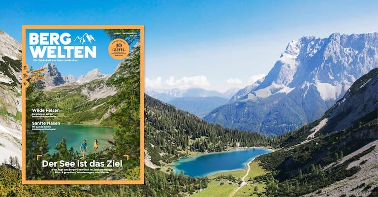 Das Bergwelten Magazin August/September 2021 (Österreich-Ausgabe)