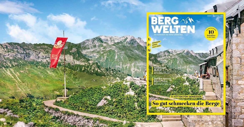 Das aktuelle Bergwelten Magazin (August/September 2020)