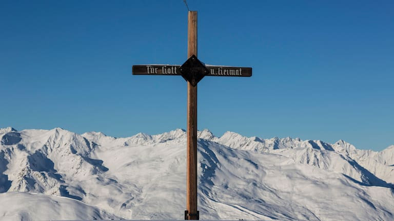 Skitour aufs Hoadl (2.340 m) in der Axamer Lizum in Tirol