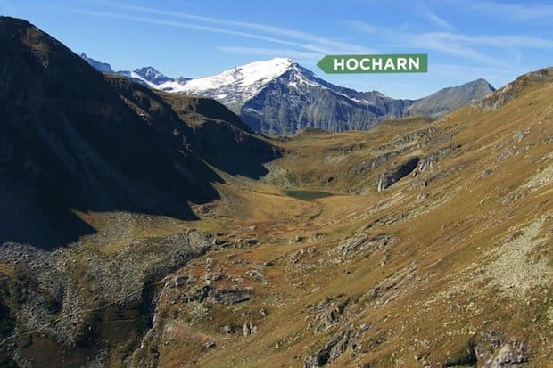 Hocharn, Goldberggruppe