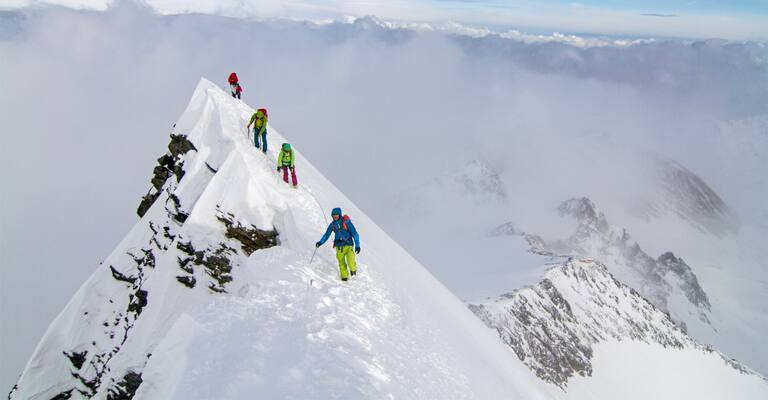 Hoch-Tirol: Skiroute