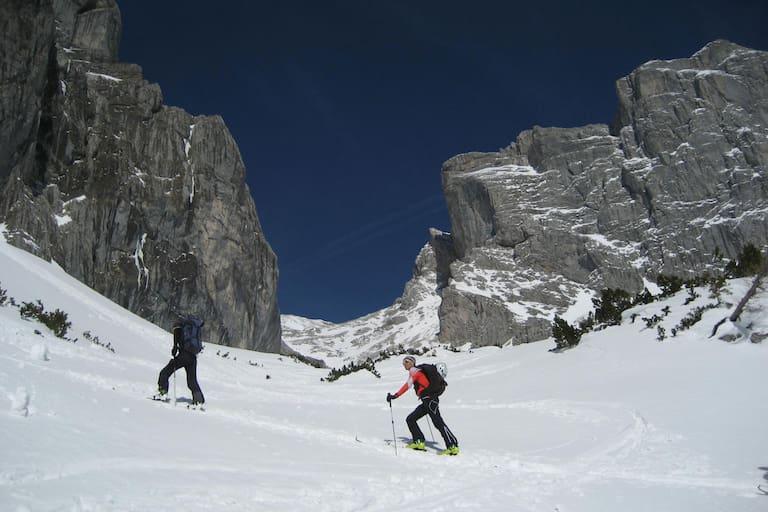 Skitour auf den Hochwart