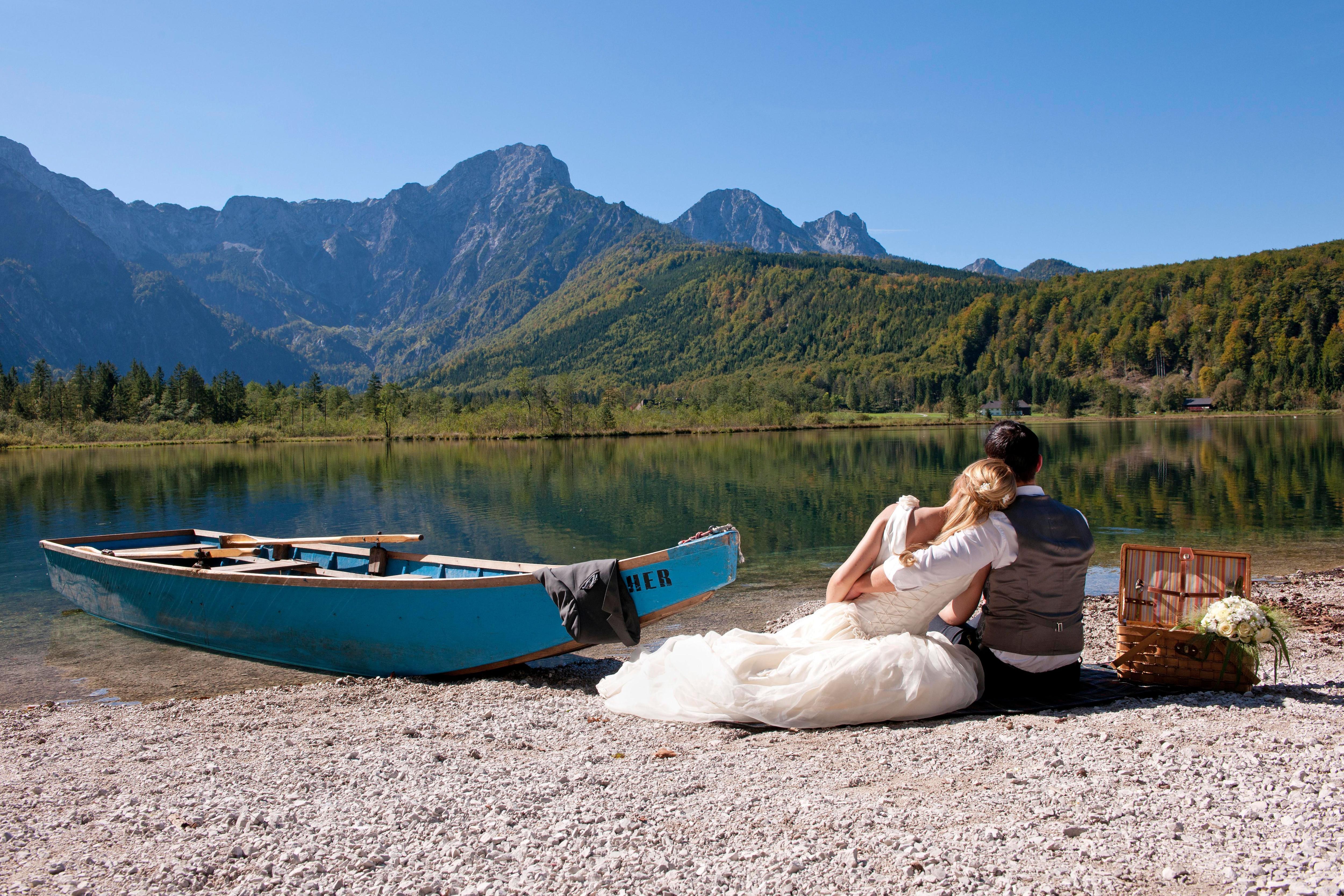 Heiraten auf einer hutte in bayern