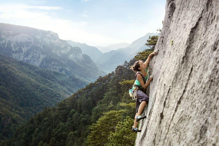 Für die unterschiedlichen Bergsportarten gibt es spezifische Empfehlungen