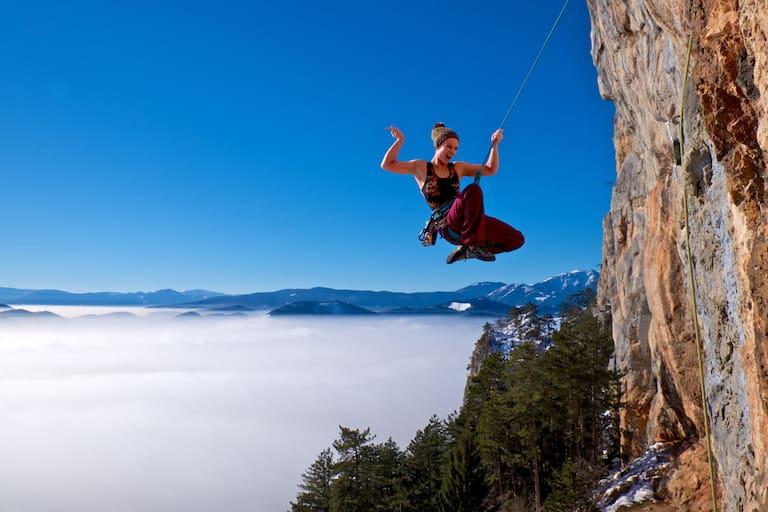 Klettern: Hohe Wand in Niederösterreich