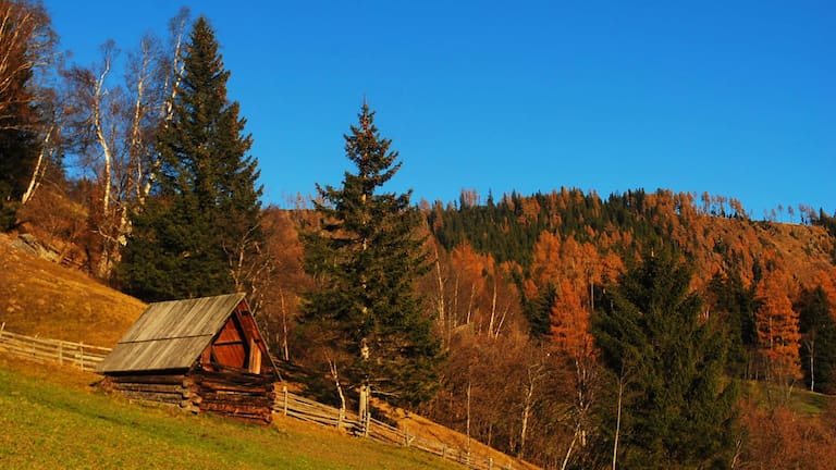 Wandern im Salzburger Lungau: Am Hollerbergweg