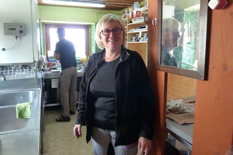 Helga Pratl, Wirtin der Salmhütte in Kärnten
