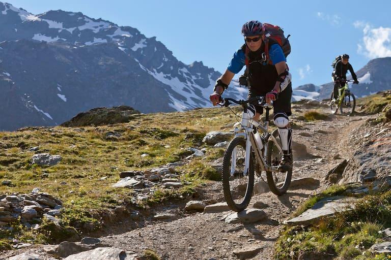 Bozen hoch drei: Mountainbike-Touren in Südtirol Haupt-Reiter