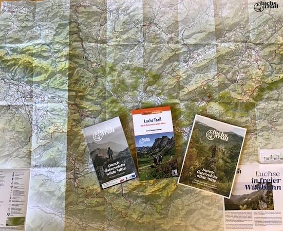 Infomaterial zum Luchs Trail