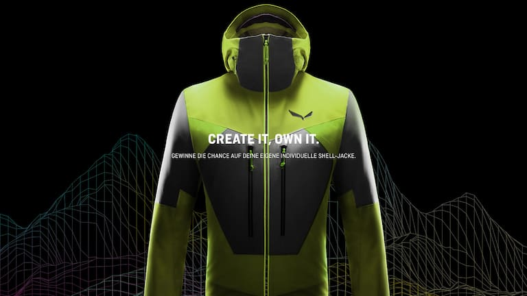 Design your own jacket - SALEWA