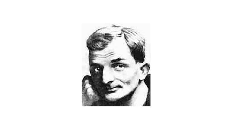 Schriftsteller und Kabarettist Joachim Ringelnatz