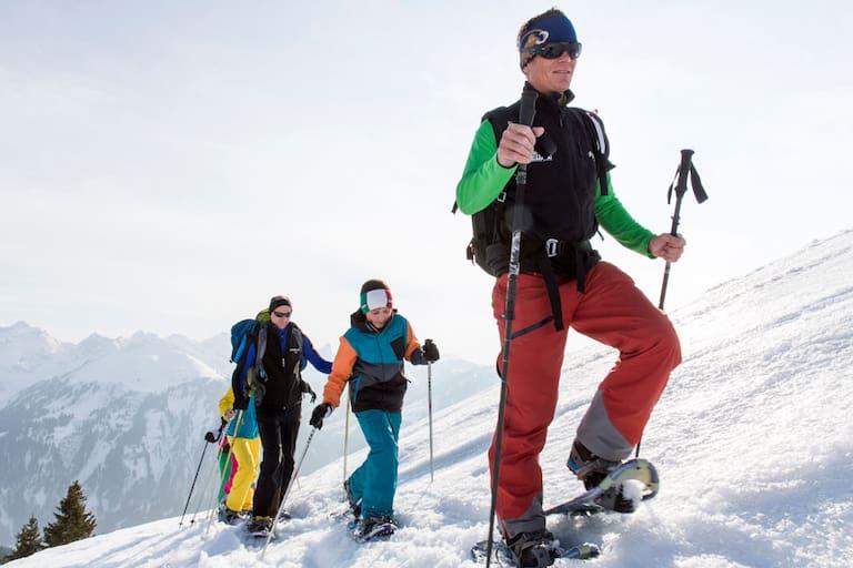 Schneeschuhgehen Bregenzerwald