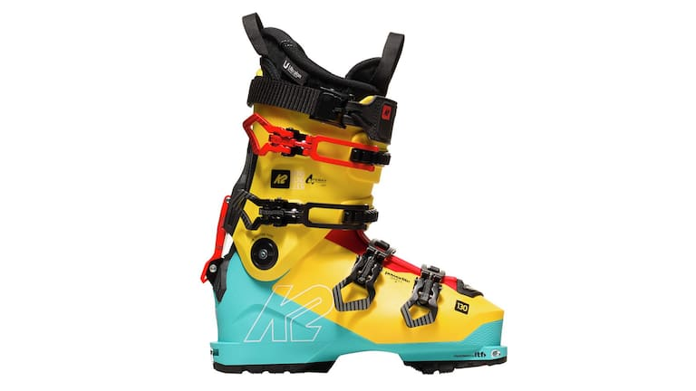 Die streng limitierten K2 Mindbender 130 Skischuhe wiegen nur 1675 Gramm.