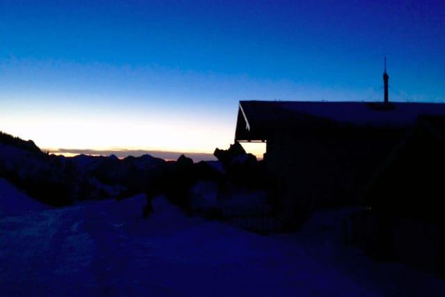Skitour: Kampenwand in Bayern