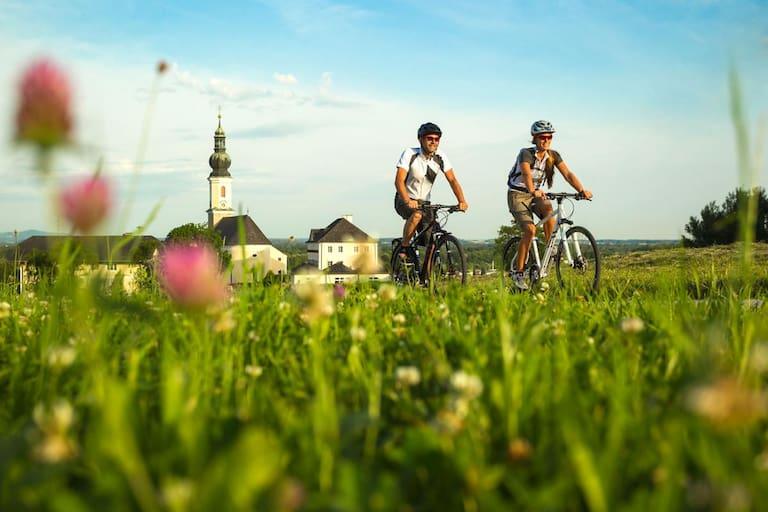 Auf dem Tauernradweg durch das Salzburger Land