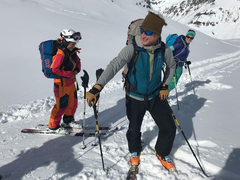 Klaus Kranebitter ist am liebsten draußen unterwegs, egal ob als Bergführer oder privat mit der Fotokamera im Gepäck